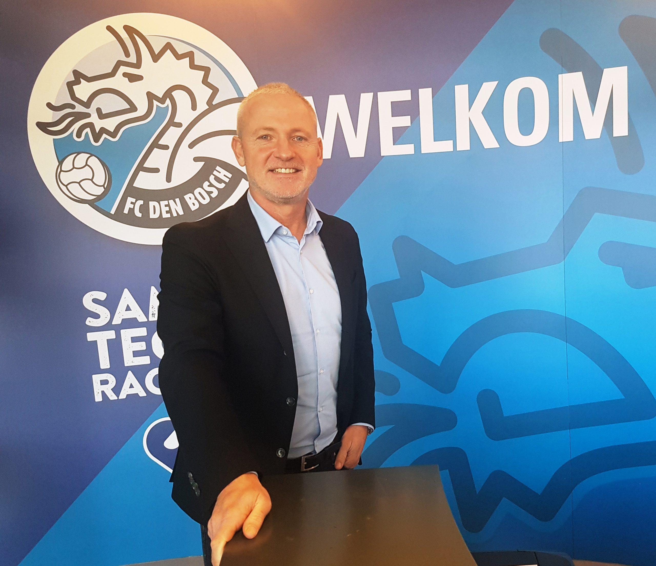 Jack de Gier keert als trainer terug bij FC Den Bosch
